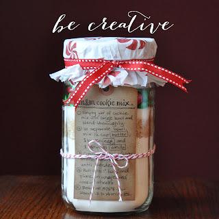 M&M cookie recipe on Creative Bag's blog