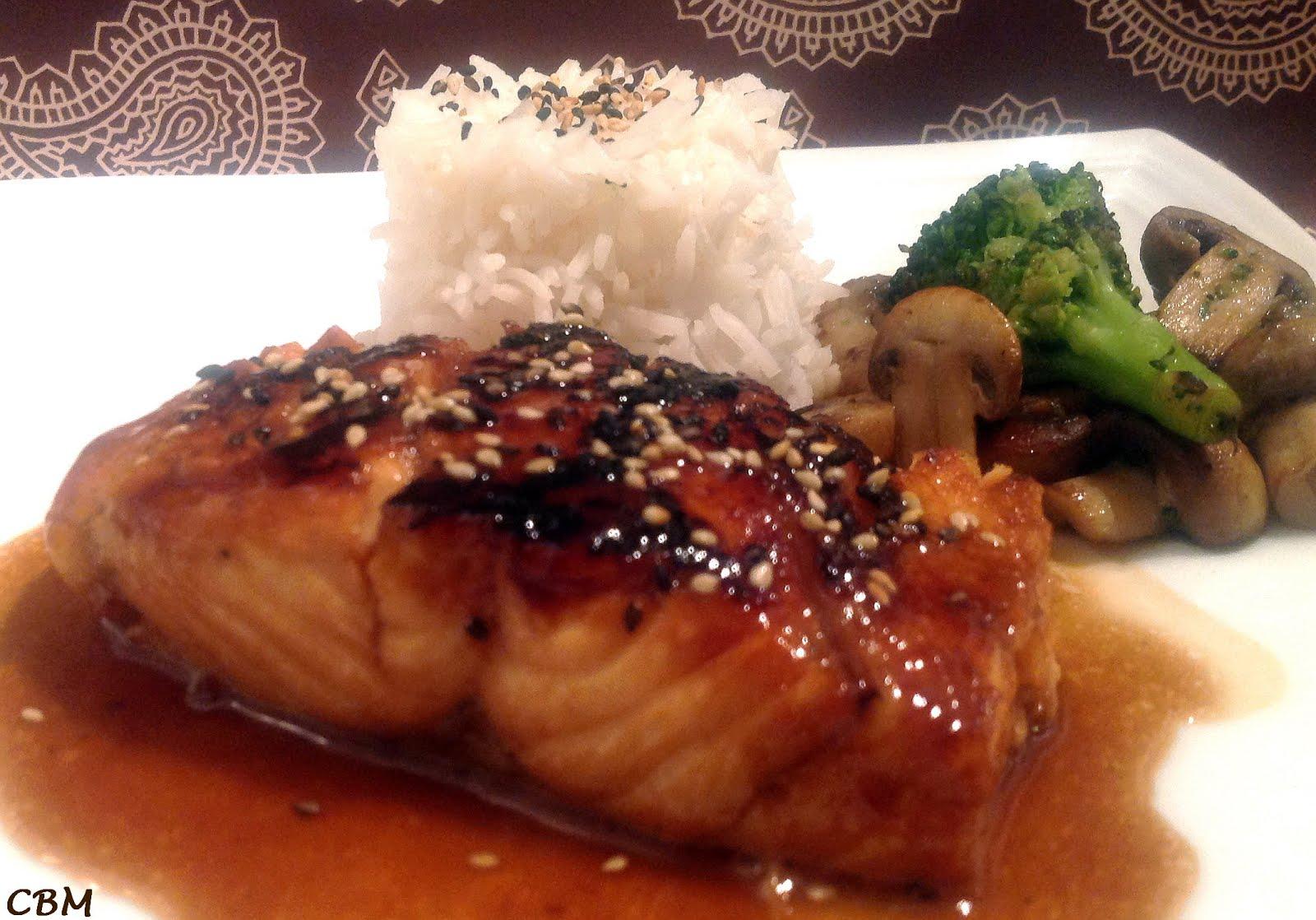 Saumon glac style japonais recette for Style japonnais