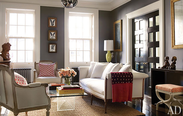 The houston house how to pick gray paint for Benjamin moore chelsea gray paint
