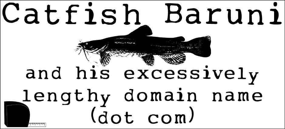Catfish Baruni and His Excessively Lengthy Domain Name (dot com)