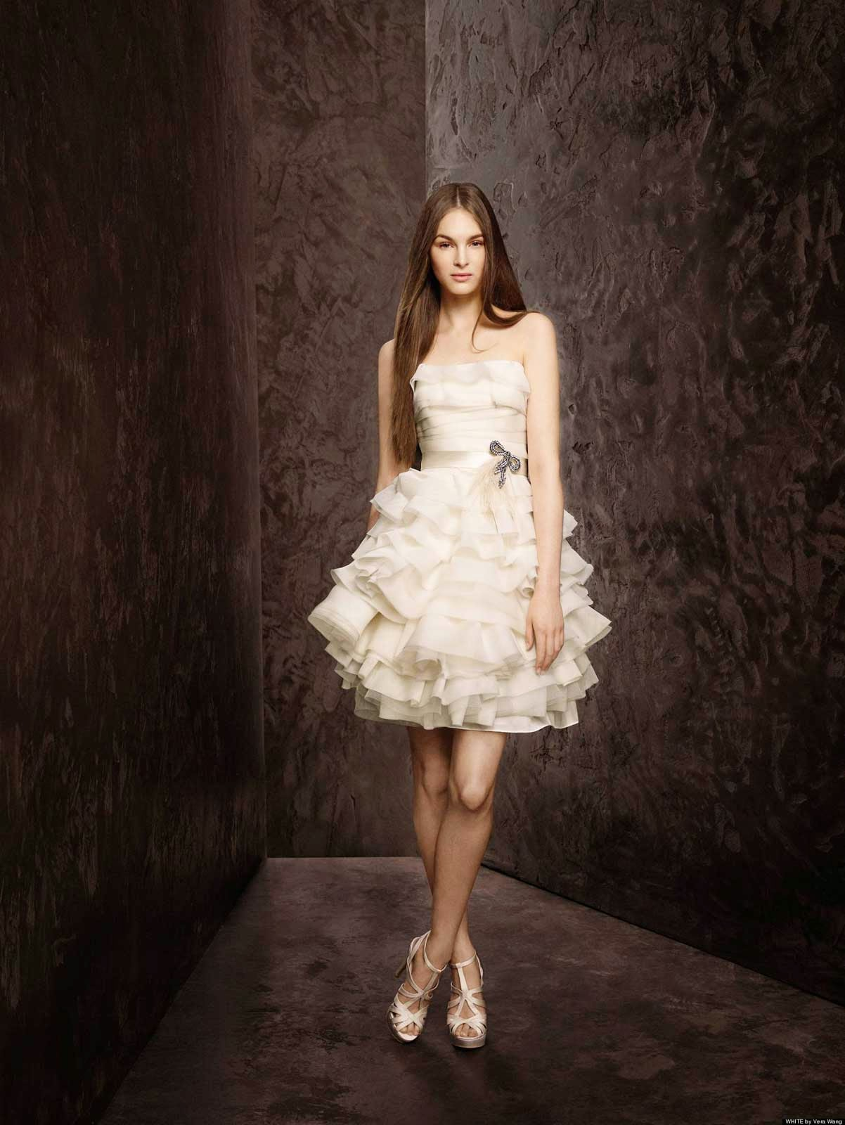Second Hand Beautiful Short Wedding Dresses Ideas