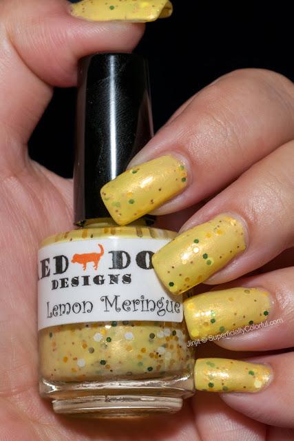 Red Dog Designs Lemon Meringue Berry Friends Collection