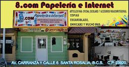 LA PAPELERÍA E INTERNET 8.COM