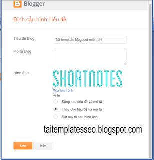 Chia sẻ Templates blogspot đẹp miễn phí