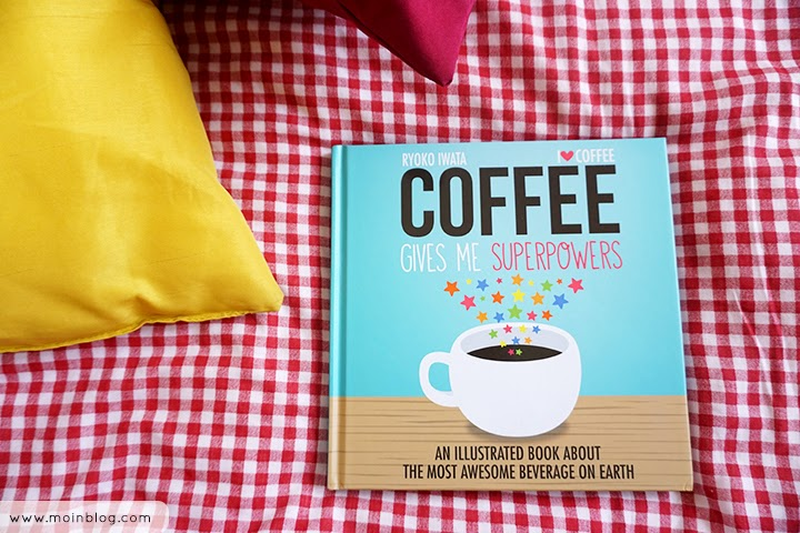 Moinblog review Coffee gives me super power by Ryoko Iwata