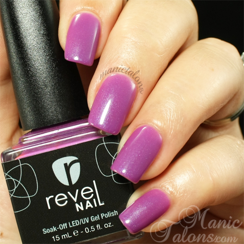 Revel Nail Gel Polish Fierce Swatch