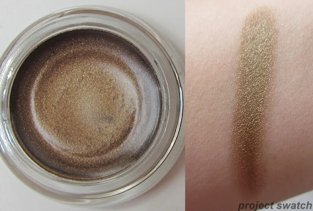 Maybelline Gold Shimmer Color Tattoo Eyeshadow - swatxh