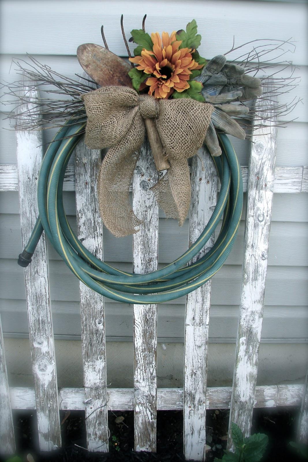 Water Hose Wreath Garden Hose Wreath