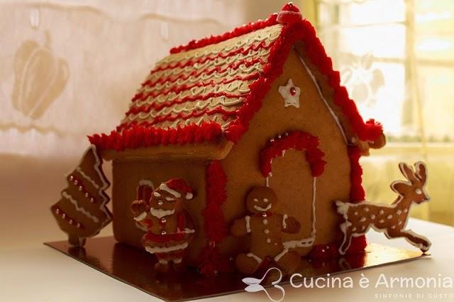 Casetta Di Natale Con Biscotti : Natale casetta di pan di zenzero lavoretto per bambini bimbi