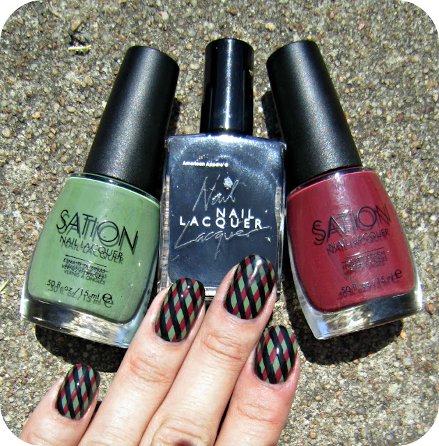 Sation Nail Polish: Concrete And Nail Polish: Sation Weed Out The Wimps