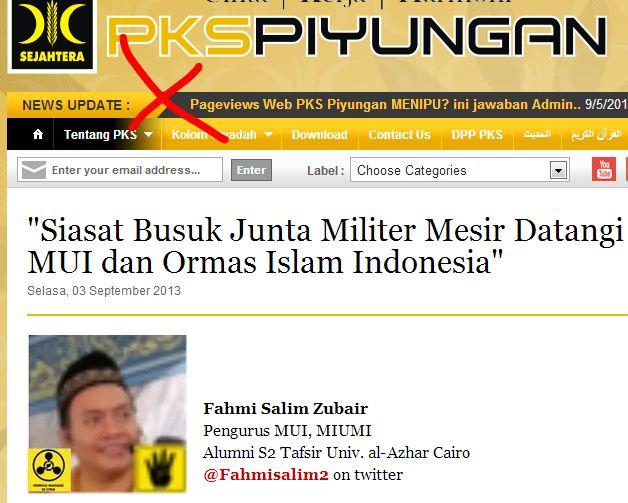 muslimedianews jakarta beberapa waktu lalu situs pks piyungan memuat ...