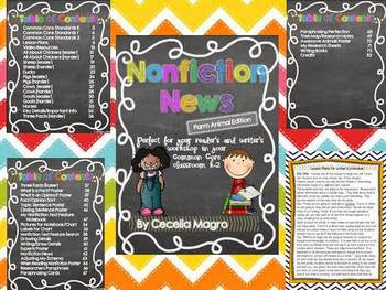 https://www.teacherspayteachers.com/Product/Non-Fiction-News-Common-Core-Close-Reading-and-Writing-K-2-Farm-Edition-777166