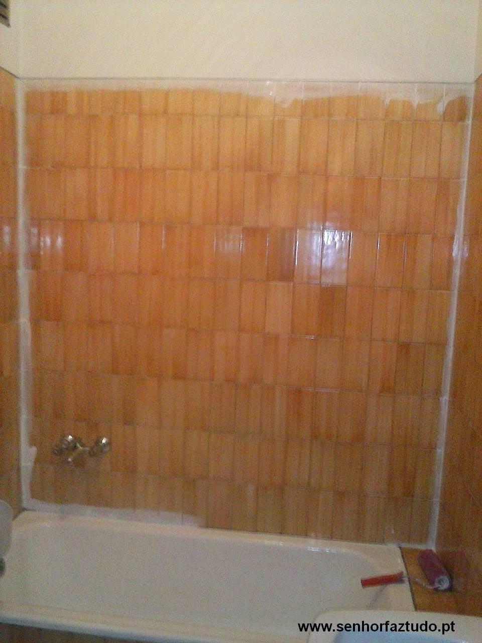 Senhor faz tudo faz tudo pelo seu lar pintura de - Pintura de azulejos ...