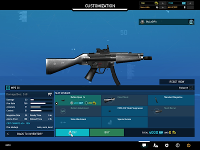 Ghost Recon Online - Control 51 SMG Stats