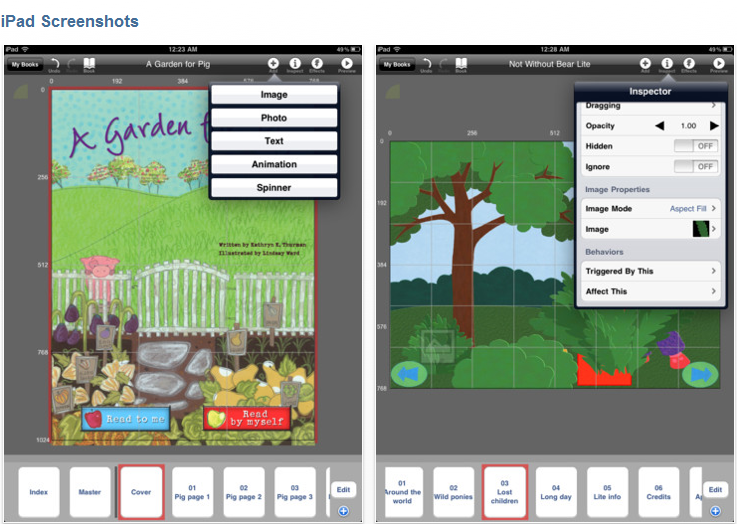 Create Your Own Interactive Books Apps With Ipad Free