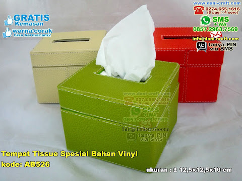 Tempat Tissue Spesial Bahan Vinyl