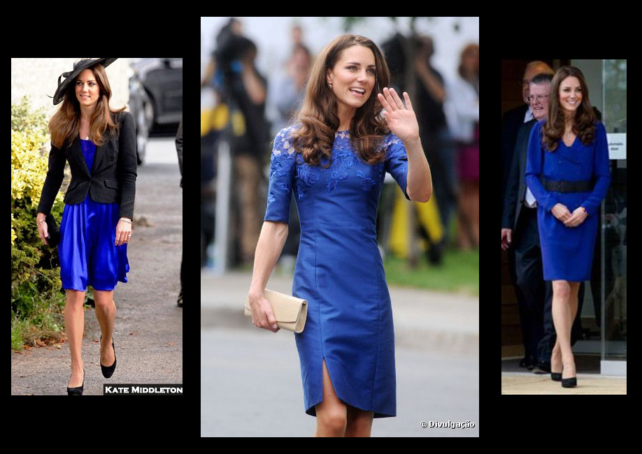 kate middleton azul klein