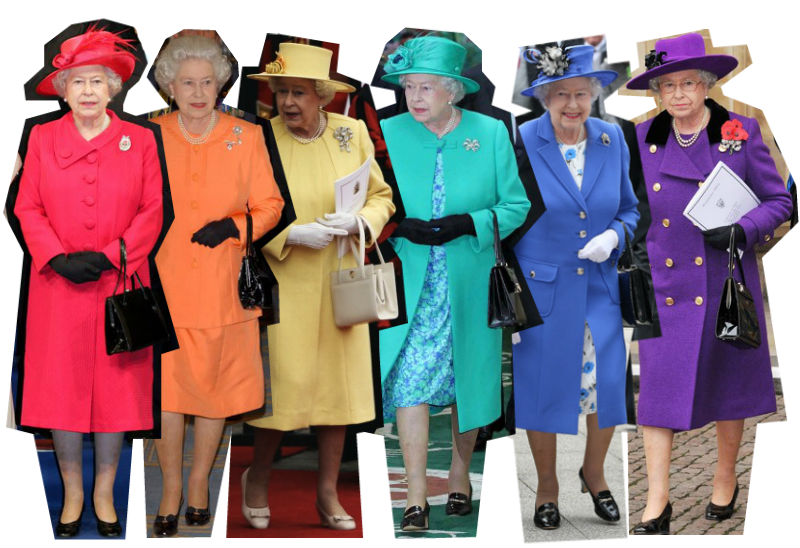 Fashion Tips From The Style Queen Elizabeth Ii La