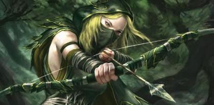 Estilo de combate A-wood_elf_ranger-1534888
