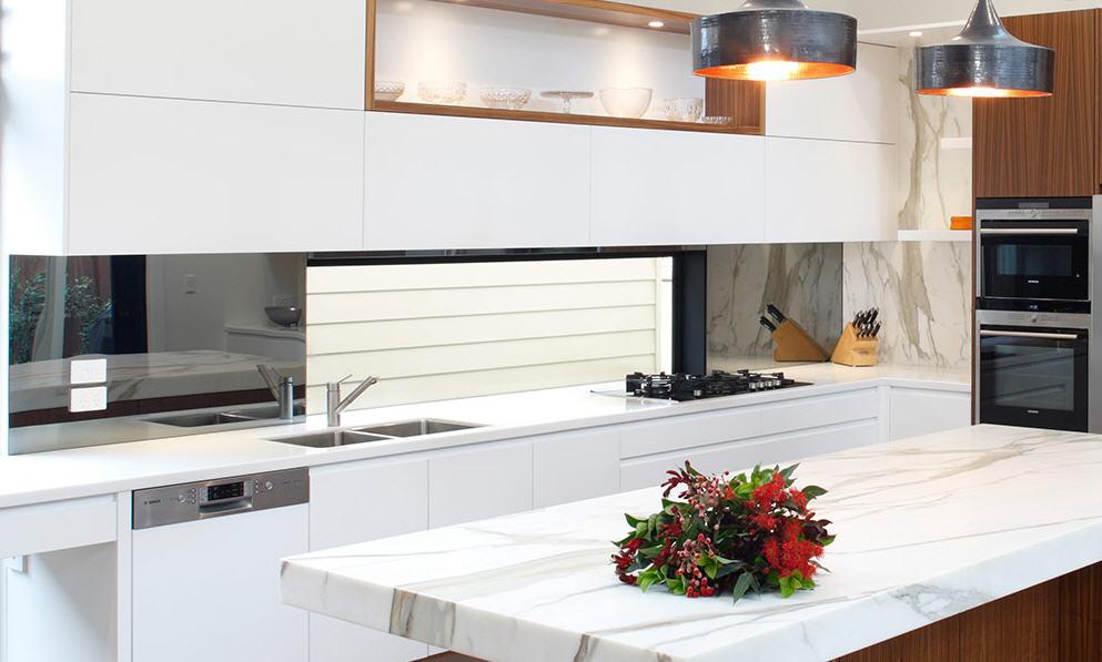 Marmol blanco cocina the image kid has it for Encimeras de marmol