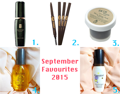 September Favourites 2015