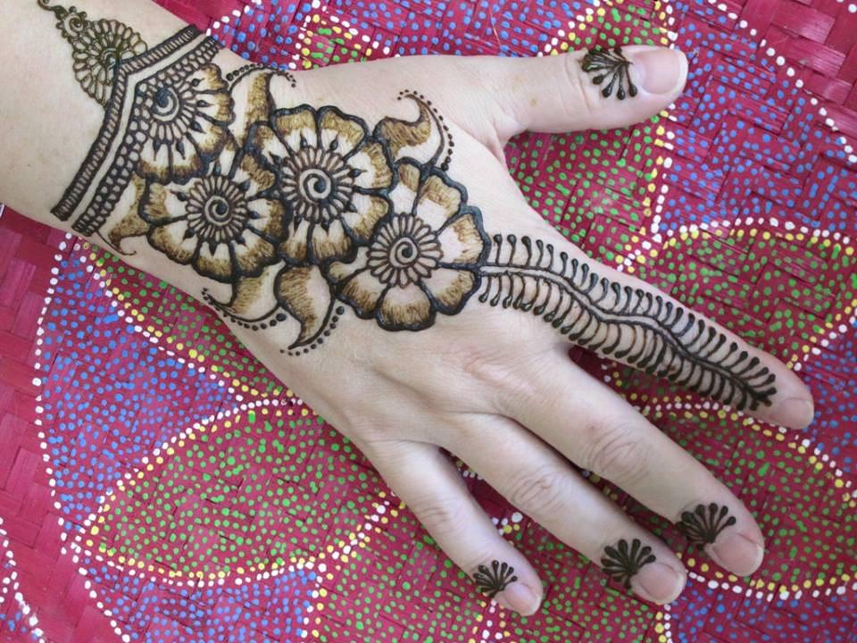 Henna Mehndi Love : Love henna mehndi designs one hand styles99