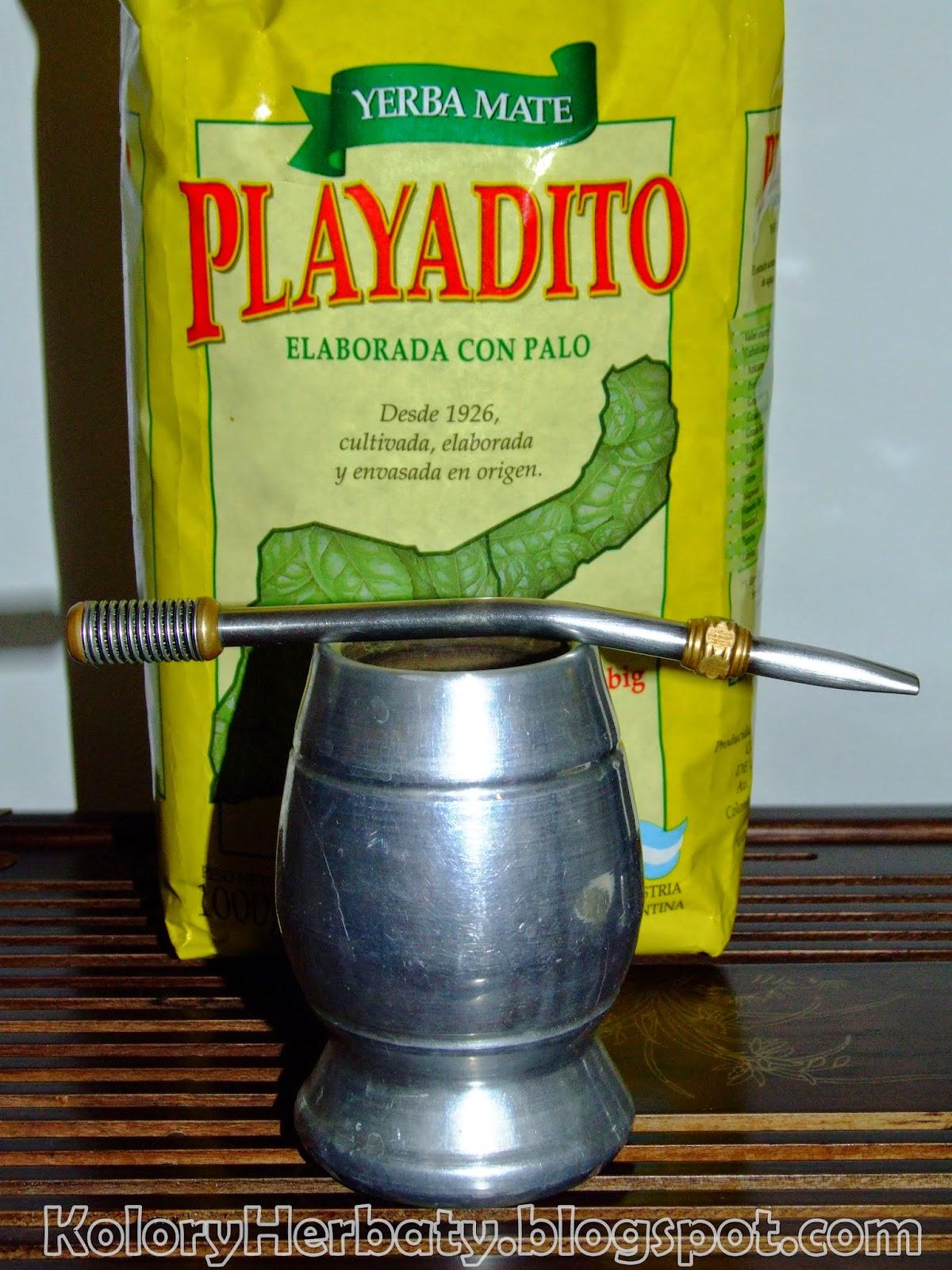 Playadito Elaborada Con Palo yerba mate argentyńska
