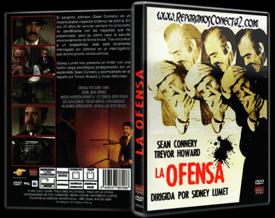 La Ofensa | 1972 | The Offence, Caratula, DvD Cover