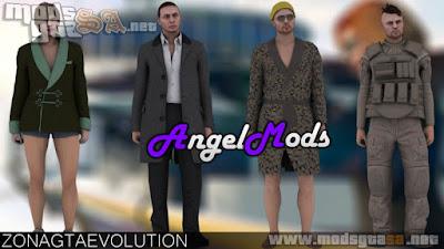 Pack de Skins GTA Online (Executivos e Criminosos)
