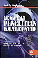 toko buku rahma: buku MEMAHAMI PENELITIAN KUALITATIF, pengarang sugiyono, penerbit alfabeta