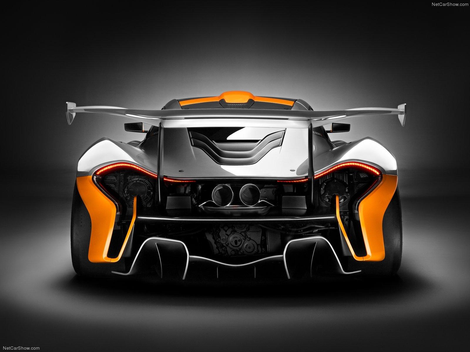 Hình ảnh siêu xe McLaren P1 GTR Concept 2014 & nội ngoại thất