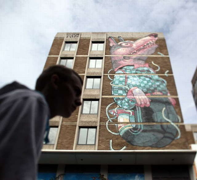 The UK's Largest Street Art Project 'See No Evil'
