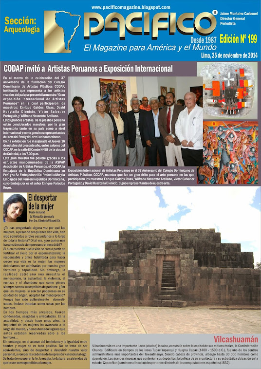 Revista Pacífico Nº 199 Arqueología