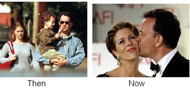 Tom Hanks and Rita Wilson, together since 1988
