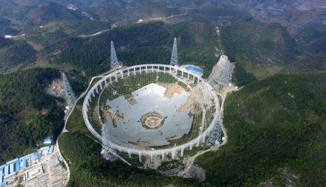 Κίνα: Το μεγαλύτερο ραδιοτηλεσκόπιο του κόσμου που κατασκευάστηκε για να εντοπίσει εξωγήινη ζωή