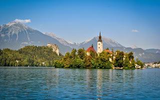 Lake Bled HD Wallpaper