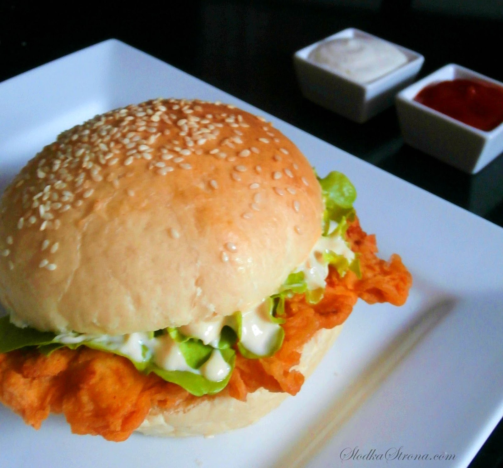 Zinger KFC  Przepis