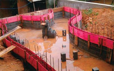Arquitetura sem mist rio como construir uma piscina for Construir piscina concreto