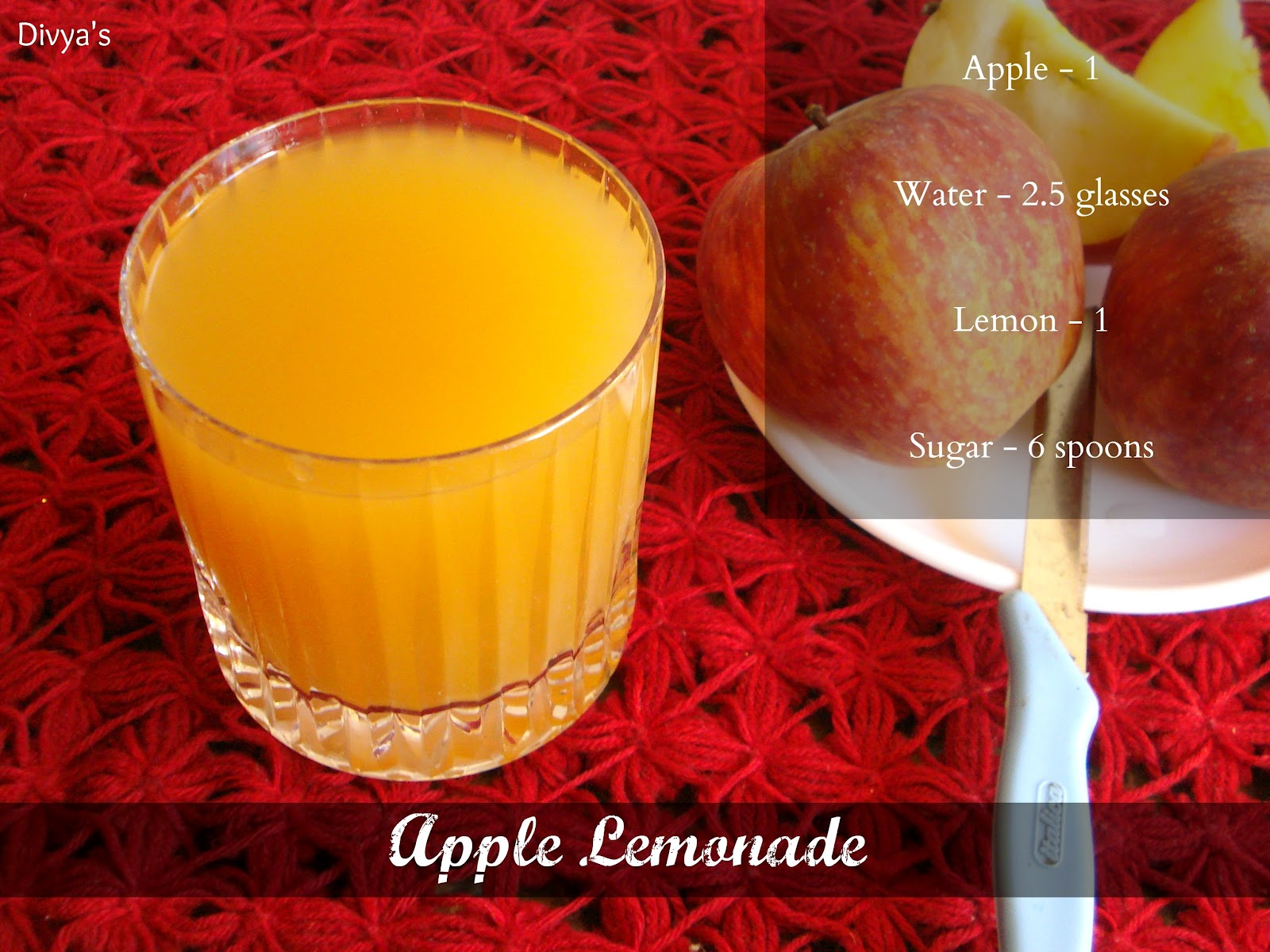 Apple Lemonade | You Too Can Cook
