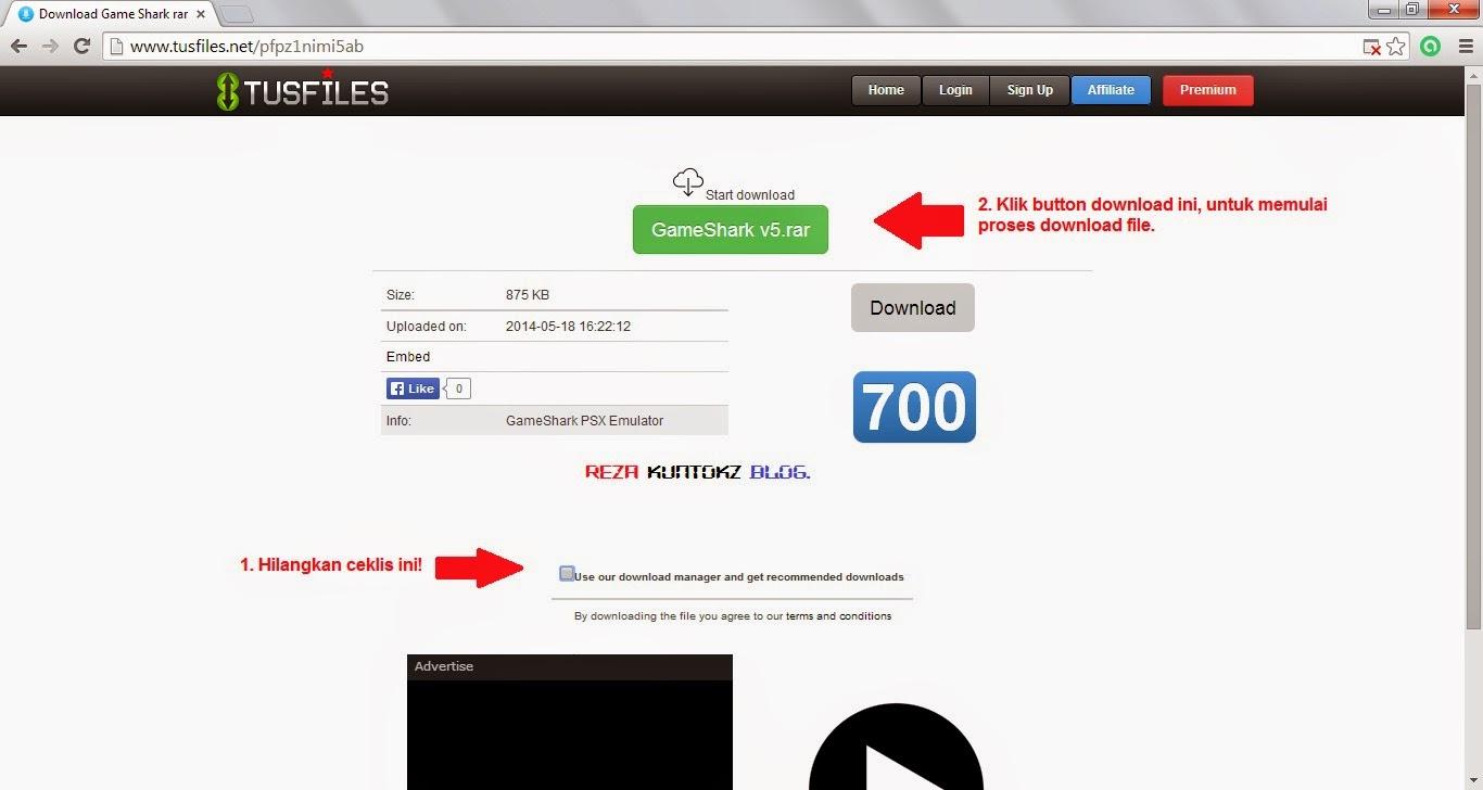 Cara Download File Di Tusfiles Dengan Aman Tanpa Terindikasi Virus.