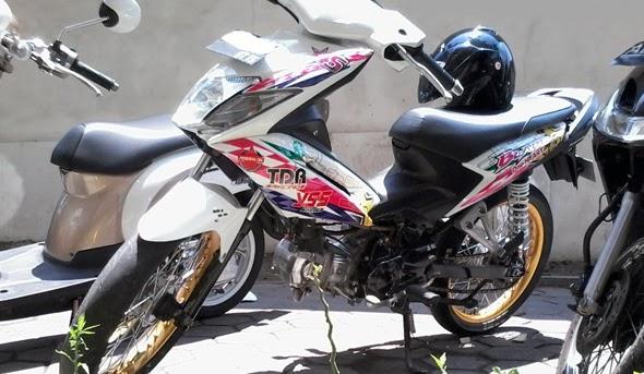 Foto dan Gambar Modifikasi Honda Blade Terbaru