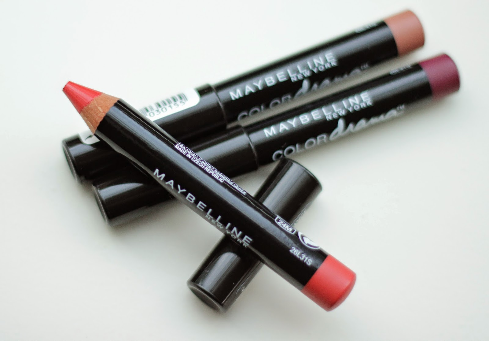 review maybelline color drama intense velvet lip pencil fab orange