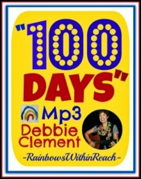 """100 Days"" Digital Download by Debbie Clement (Mp3 & Powerpoint) $"