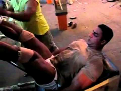 suhas khamkar the indias top bodybuilder: Varinder Singh Ghuman in gym