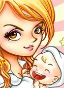 Мама Юля - Онлайн игра для девочек