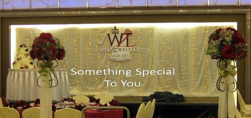 Something special to you malaysia wedding one stop shop stage stage backdrop and decor junglespirit Images