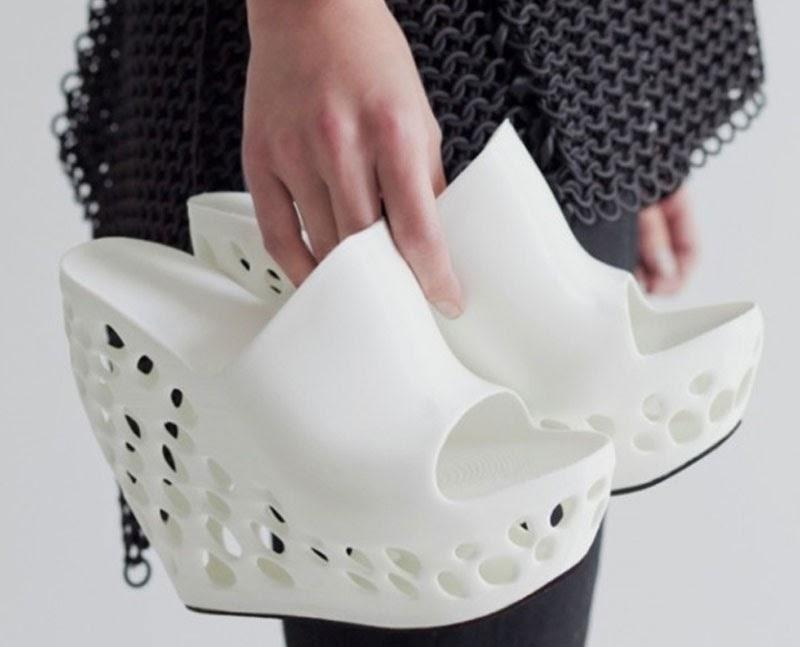 Imprime tus propios zapatos 3D de Cubify