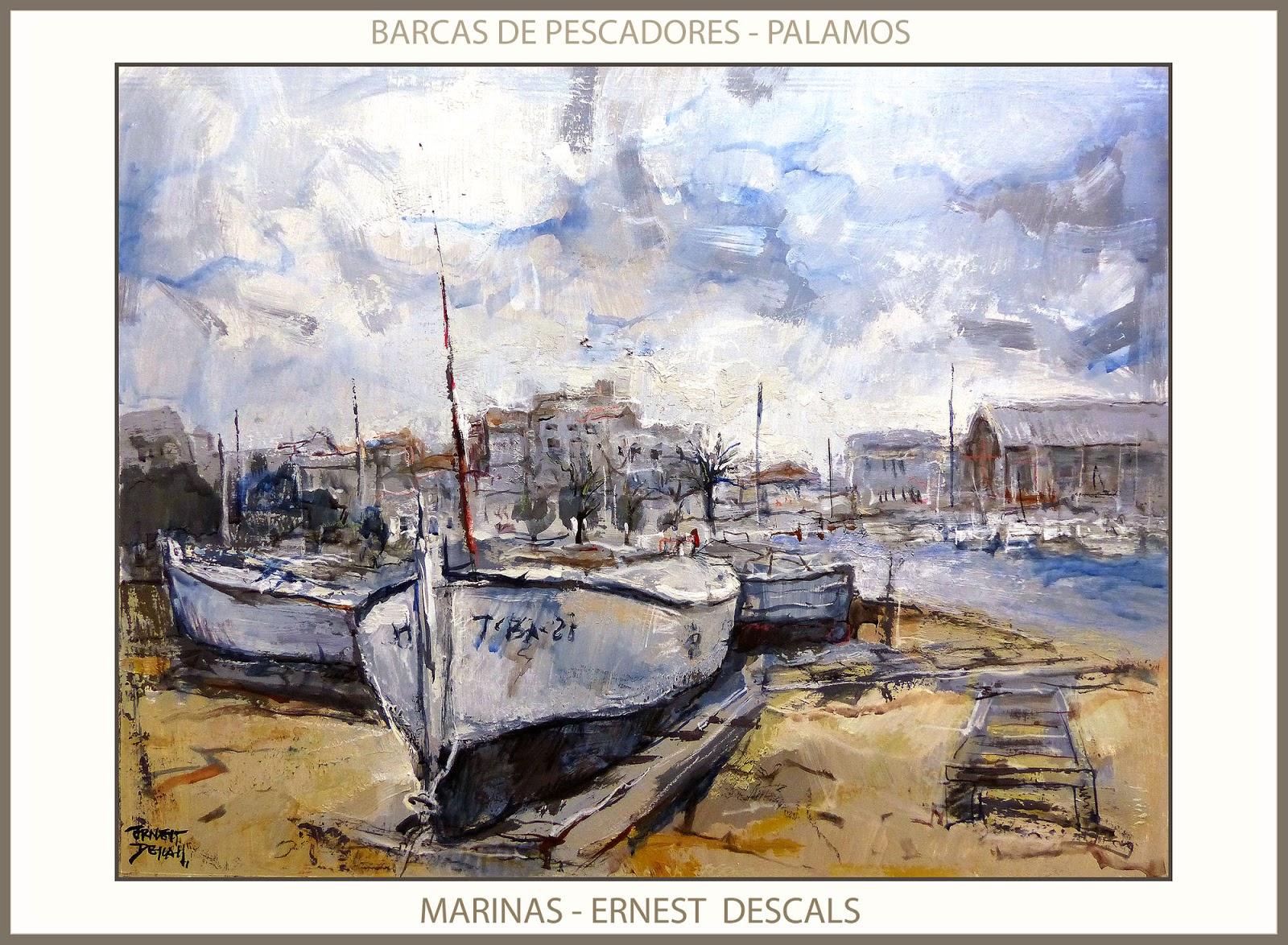 Ernest descals artista pintor pinturas marina palamos for Cuadros de marinas