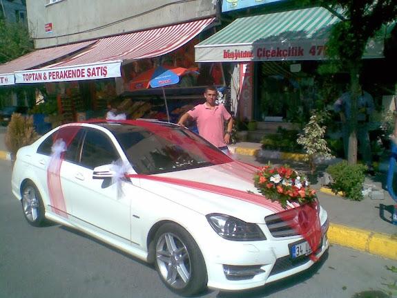 sultangazi gelin arabası süsleme