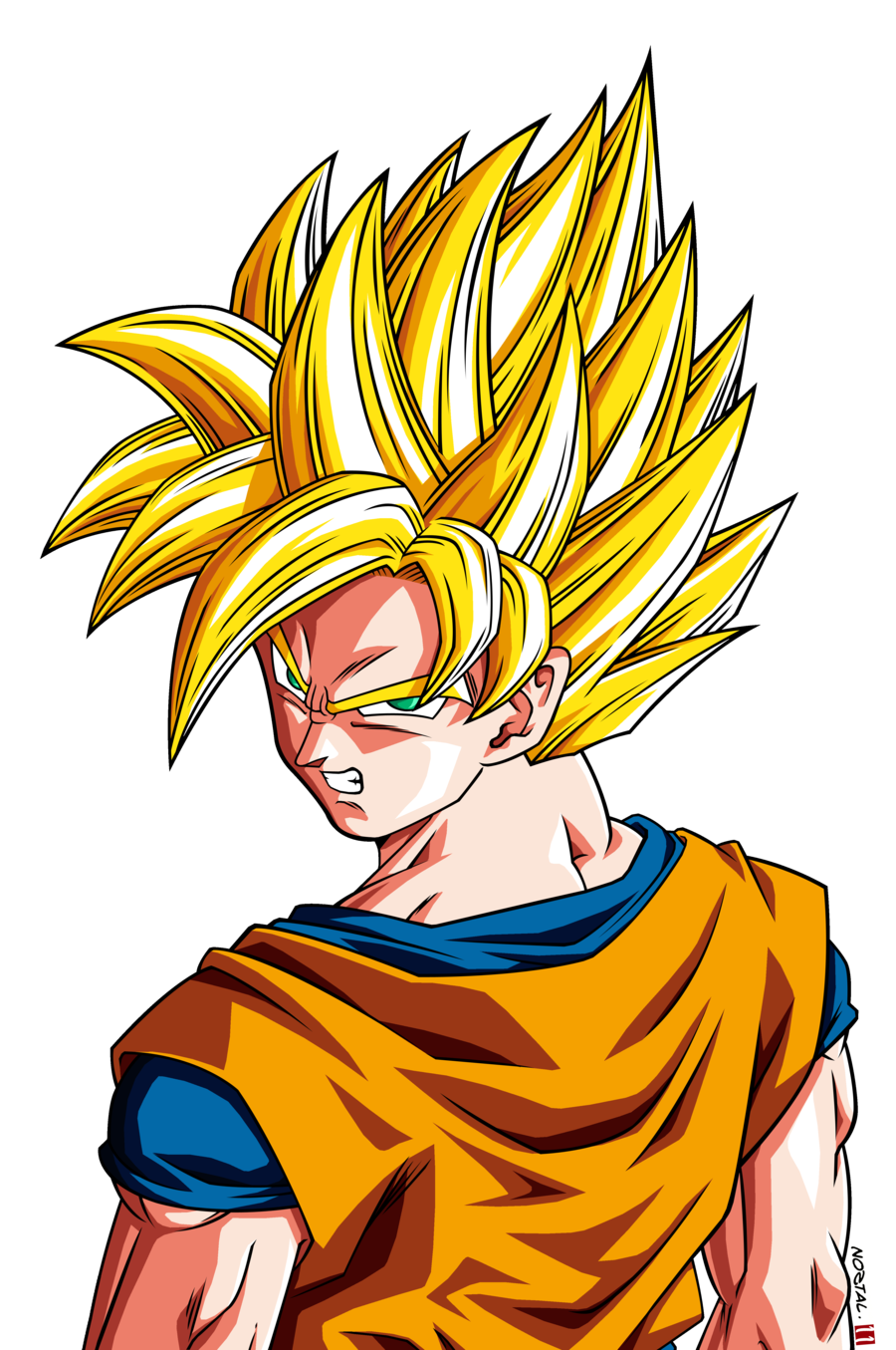 Goku y vegeta super imagen z - Dragon ball z goku son ...